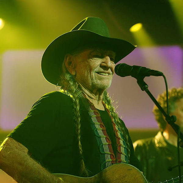 Image of Caption: American musician, Willie Nelson