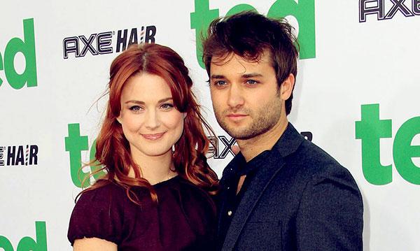 Image of Alexandra Breckenridge with her husband Casey Hooper
