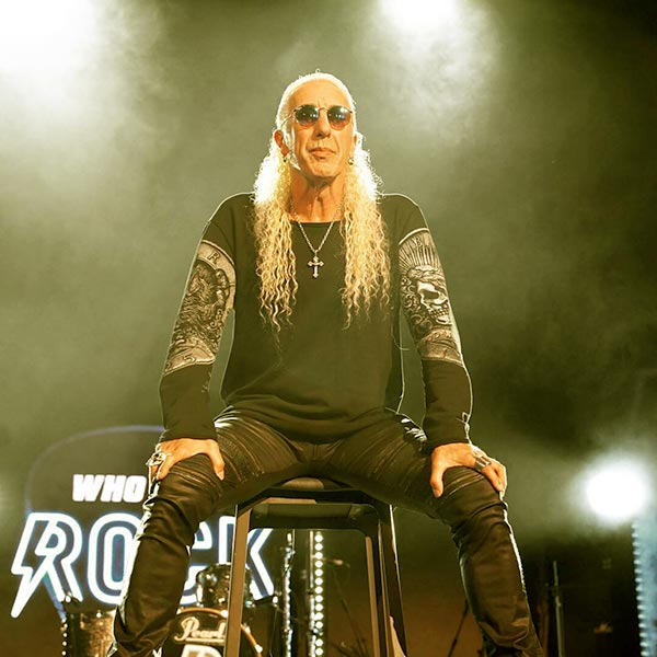 Image of Singer, Dee Snider height is 6 feet