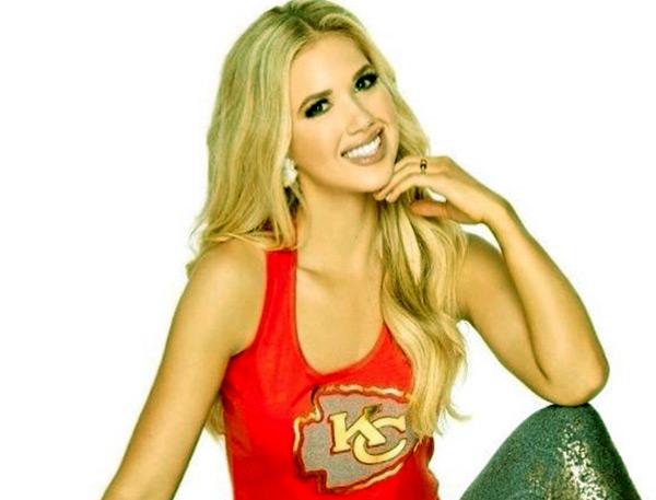 Image of NFL spokes model, Gracie Hunt