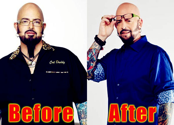 Image of Jackson Galaxy weight loss before and after
