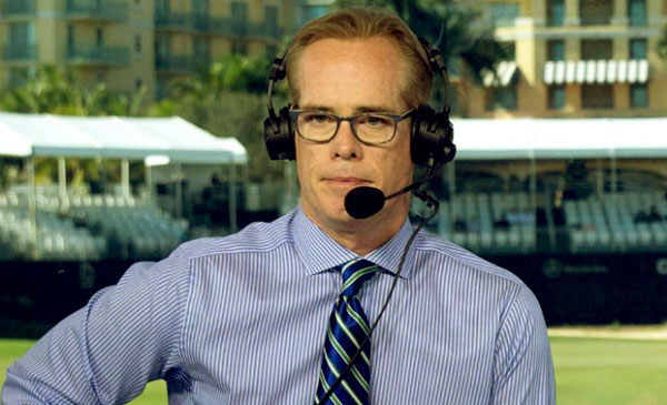 Image of American sportscaster, Joe Buck net worth