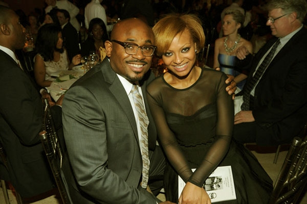 Image of Steve Stoute with his wife Laureen Branche