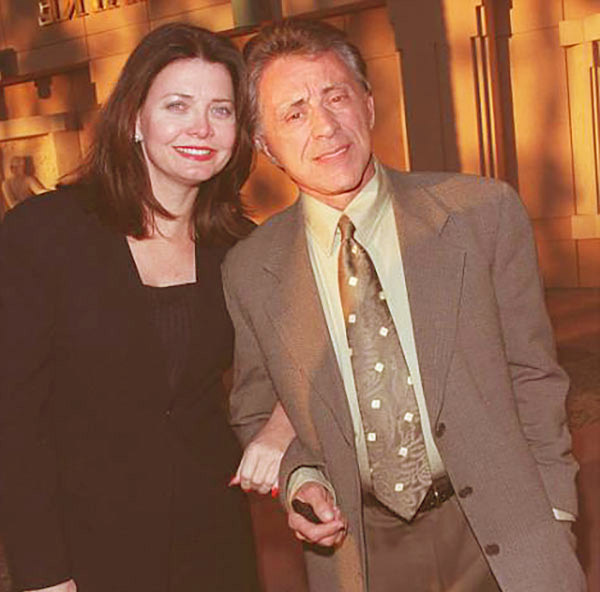 Image of Frankie Valli with his wife Randy Clohessy