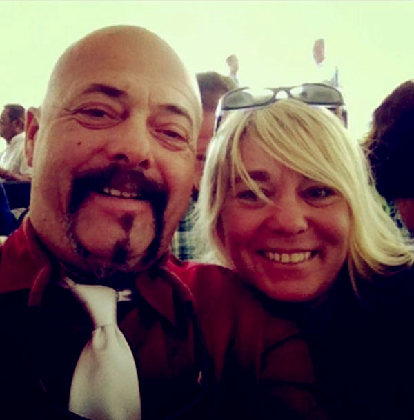 Image of Dave Marciano with his wife Nancy Marciano