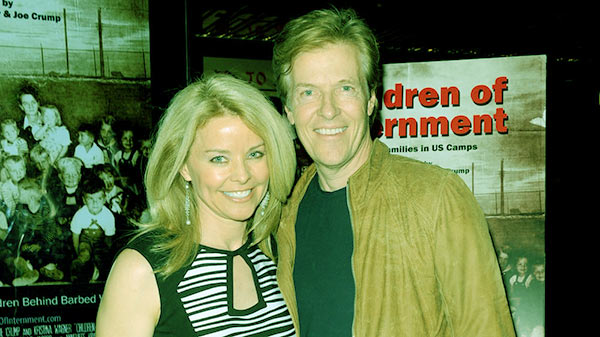 Image of Jack Wagner with ex-wife Kristina Wagner