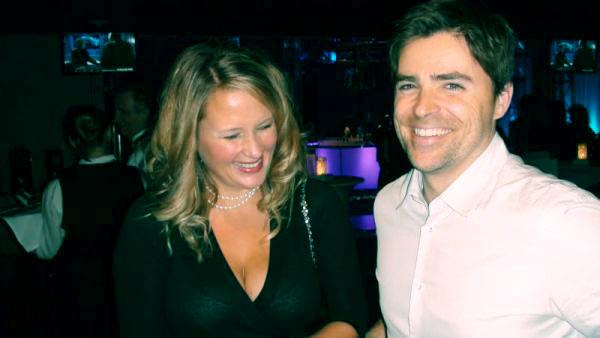 Image of Kavan Smith with wife Corrine Clark