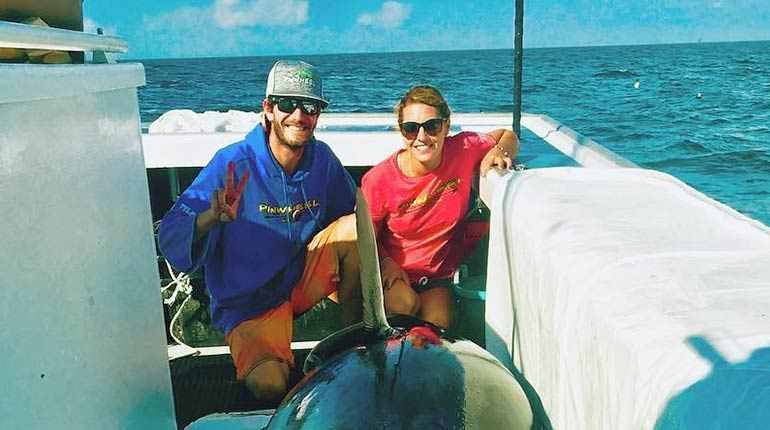 """Image of Tyler McLaughlin's Sister Marissa Mclaughlin from """"wicked Tuna"""" wiki, Bio, Facts."""