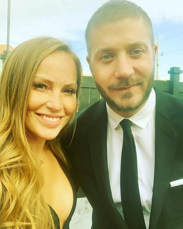 Image of Mina Starsiak with her husband Steve Hawk