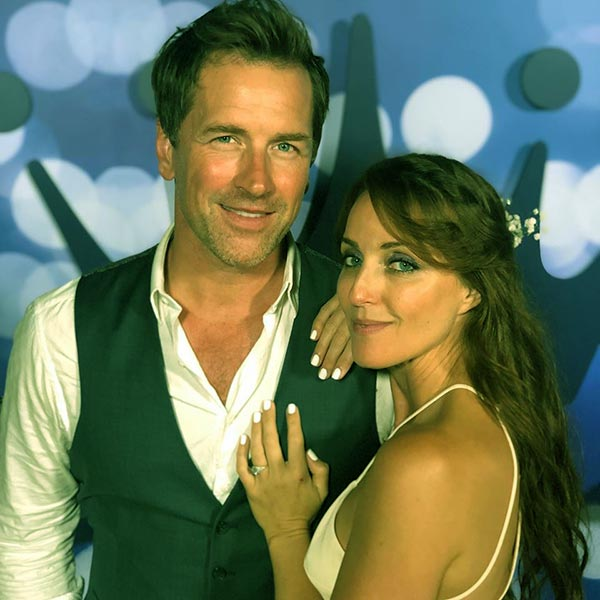 Image of Paul Greene with his wife Kate Austin
