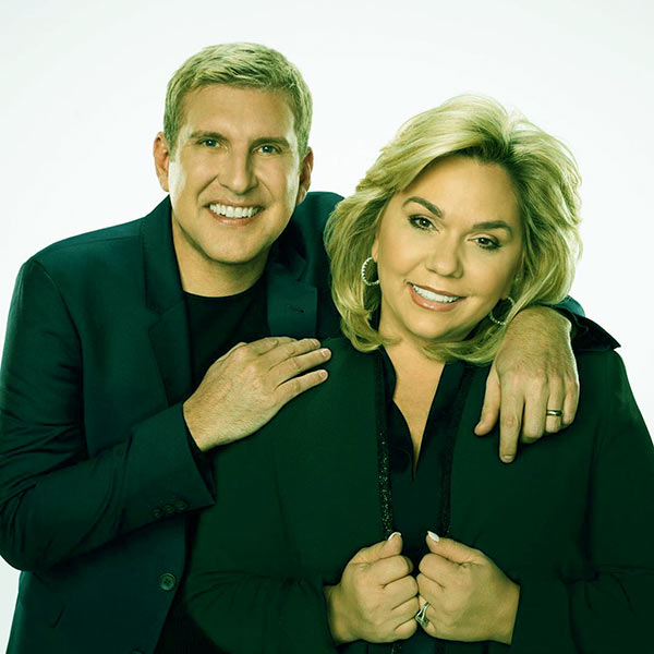 Image of Todd Chrisley with wife Julie Chrisley