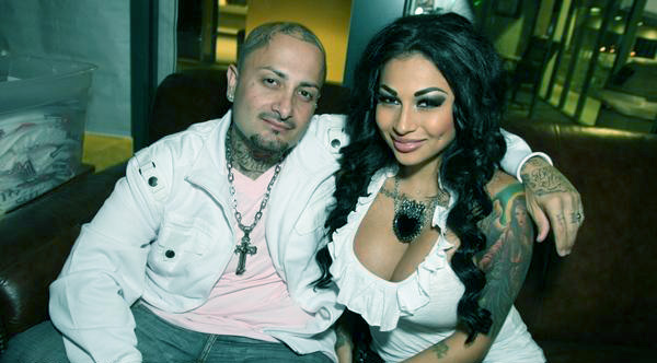 Image of Brittanya with her husband Lucky Moe Razavi