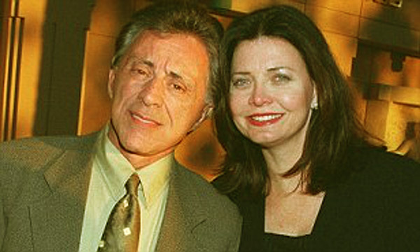 Image of Frankie Valli with his third wife Randy