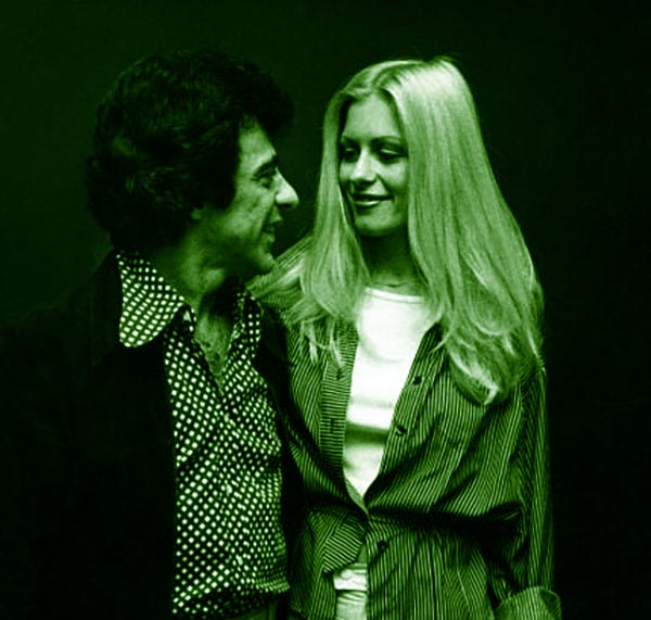 Image of Frankie with first wife Mary Mandel Valli
