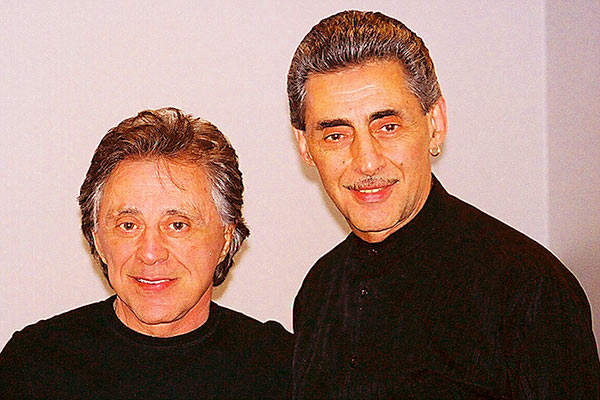 Image of Frankie with his brother Bobby Valli