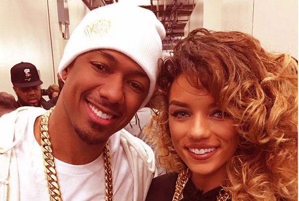 Image of Jena with her ex-boyfreind Nick Cannon