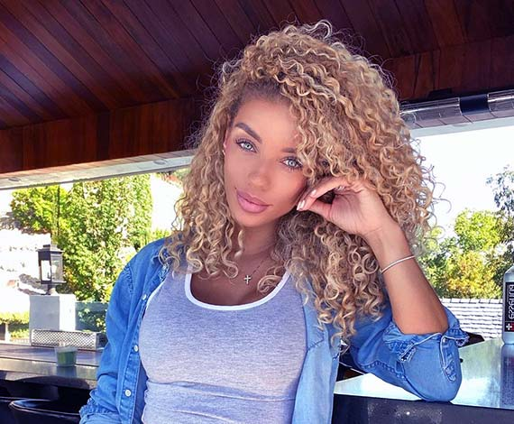 Image of Model, Jena Frumes net worth