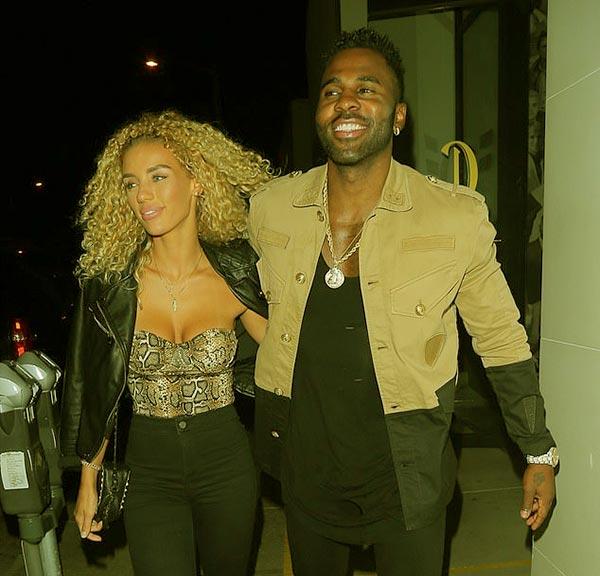Image of Jena with her rumored boyfriend Jason Derulo