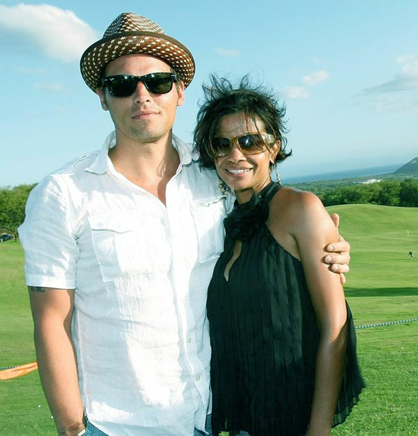 Image of Keisha Chambers with her husband Justin Chambers