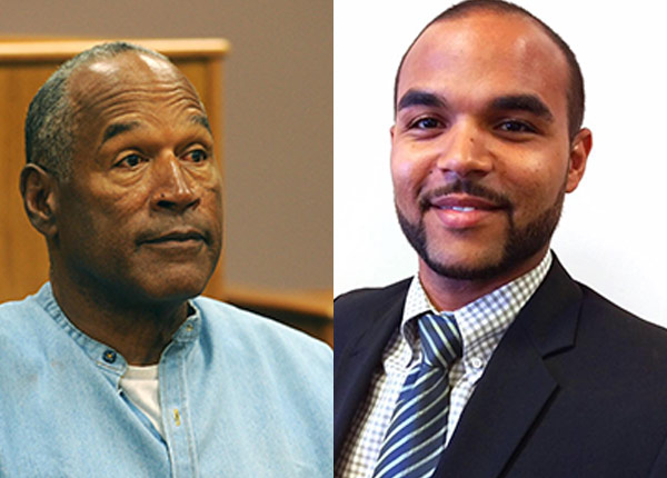 Image of Justin Simpson and O.J Simpson
