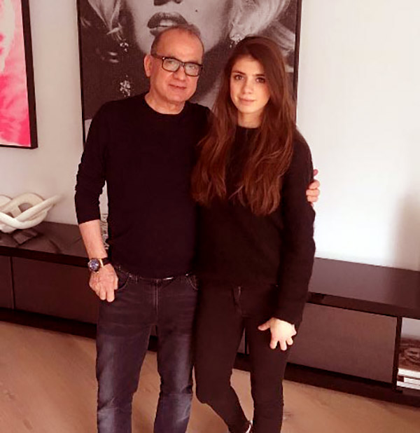 Image of Touker with his daughter Tashia