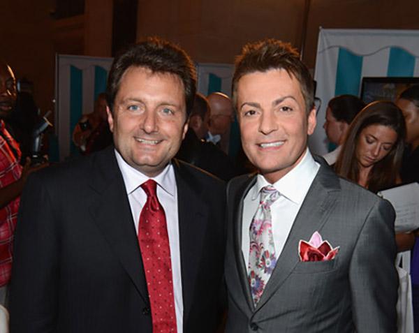 Image of Randy Fenoli and his partner Michael Landry