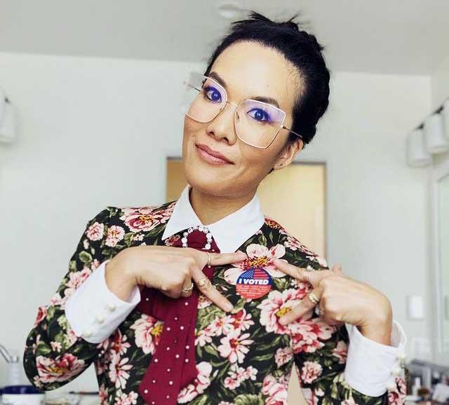 Photo of Ali Wong.