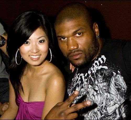Photo of Quinton Jackson and his wife, Yuki Jackson.