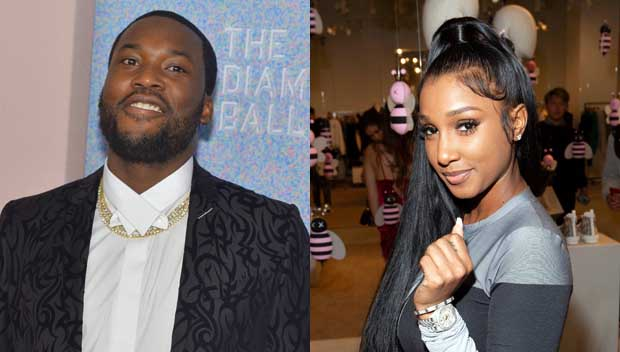 Photo of Bernice Burgos and her boyfriend, Meek Mill.
