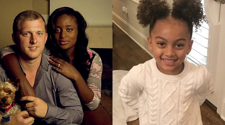Angela Victoria Johnson's ex boyfriend and her daughter, Chloe