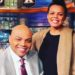 Photo of Charles Barkley and his Daughter, Christiana Barkley.
