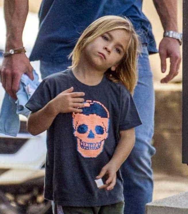 Image of Chris Hemsworth's son, Tristan Hemsworth