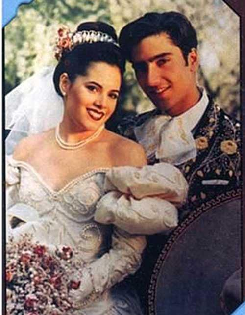 Wedding image of Alejandro Fernandez and his ex-wife,