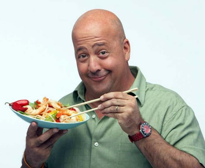Image of celebrity chef and restaurateur, Andrew Zimmern.