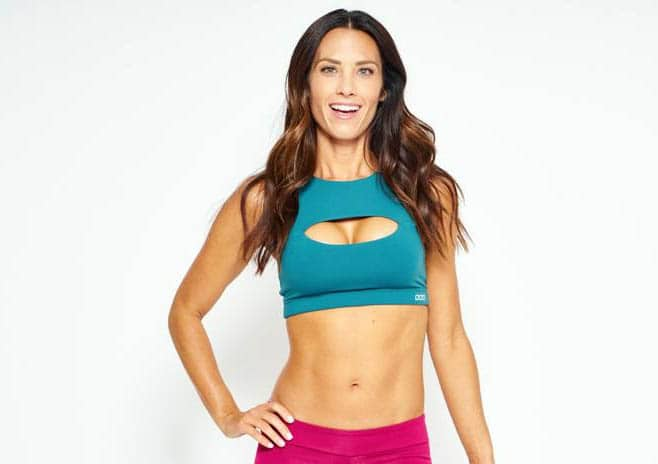 Image of fitness model, Autumn Calabrese.