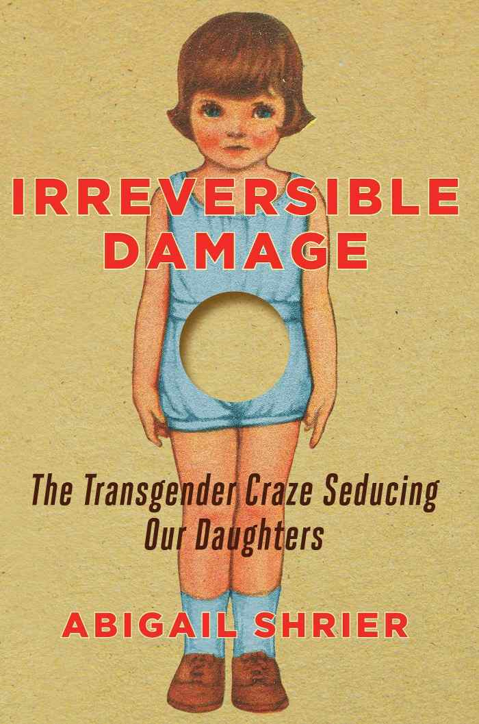 Image of the fearless American writer, Abigail Shrier's book