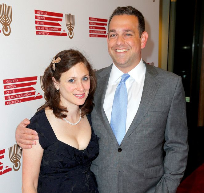 Image of the fearless American writer, Abigail Shrier and her husband