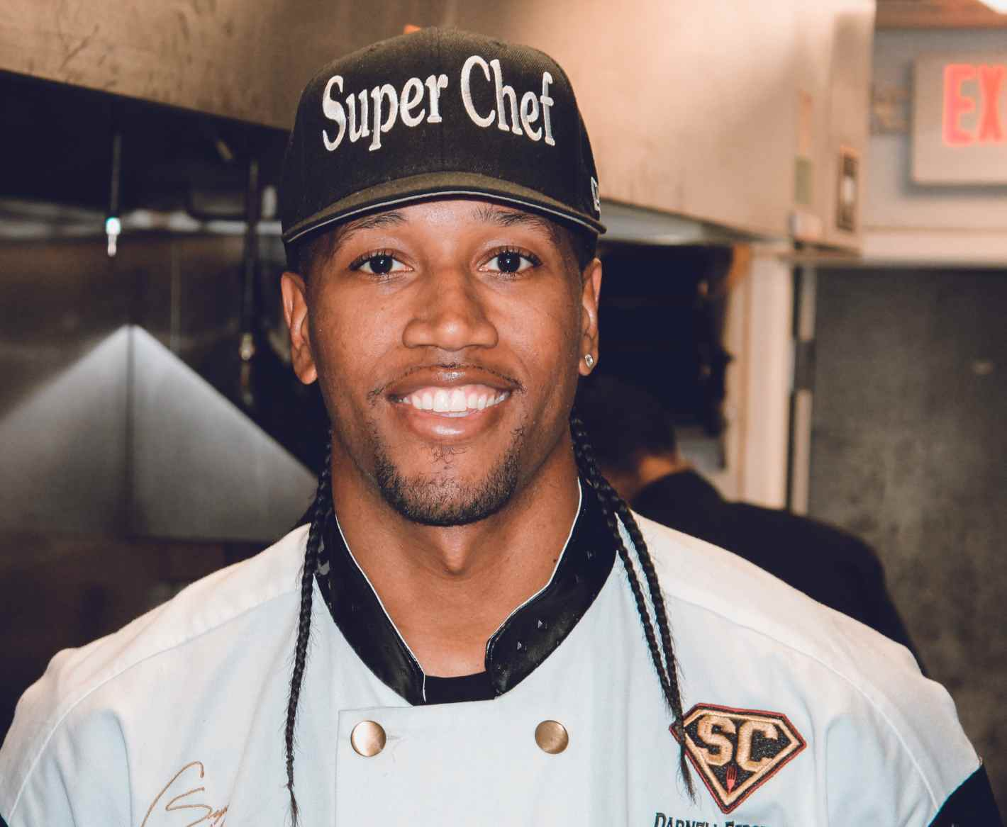 Image of renowned chef, Darnell Ferguson