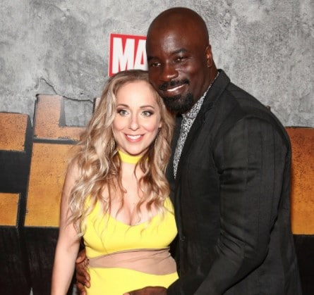 Image of the wife of actor Mike Colter, Iva Colter