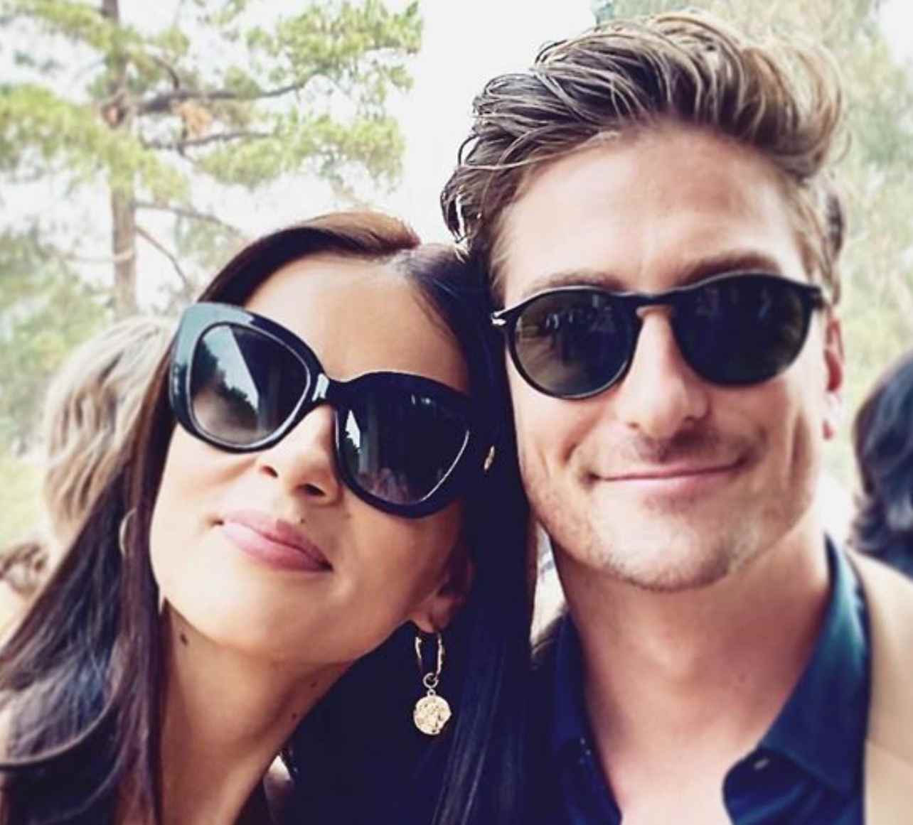 Image of the wife of celebrity named Daniel Lissing and Nadia Lissing