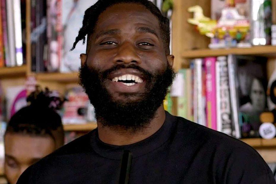 Image of the Houston-based rapper, Tobe Nwigwe