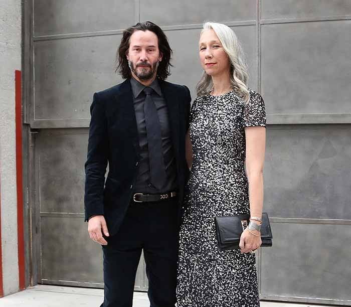 Photo of Keanu Reeves and present girlfriend, Alexandra Grant
