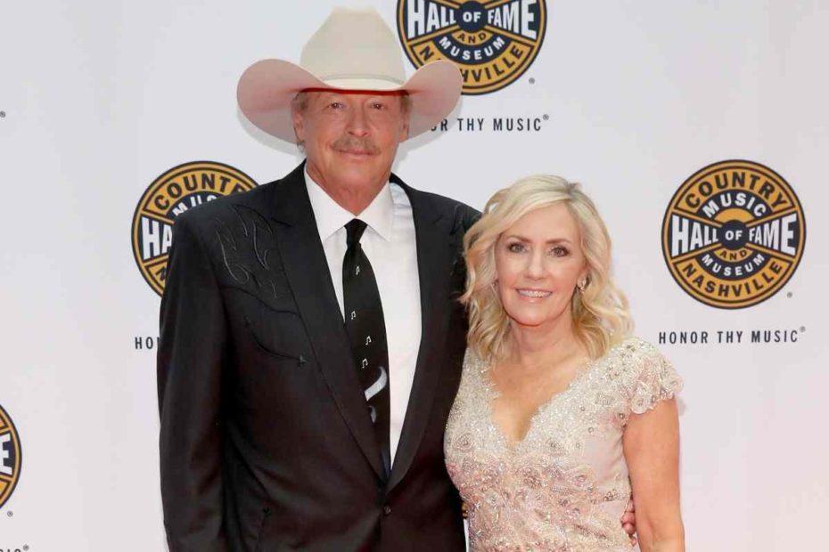 Alan Jackson and his wife, Denise Jackson