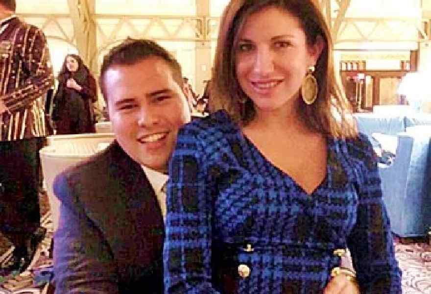 Deanna Lorraine with her ex-lover