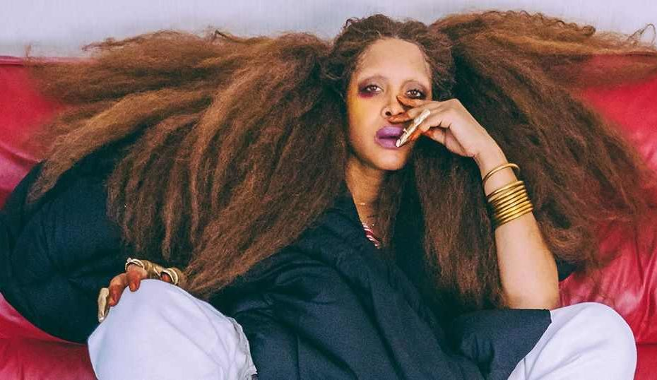 A renowned singer and songwriter, Erykah Badu