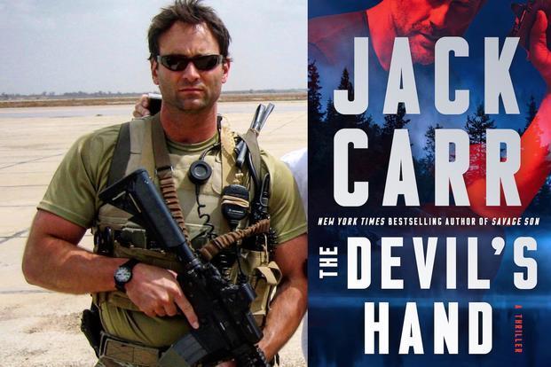 """Jack Carr punlished book, """"Davil's Hand"""""""