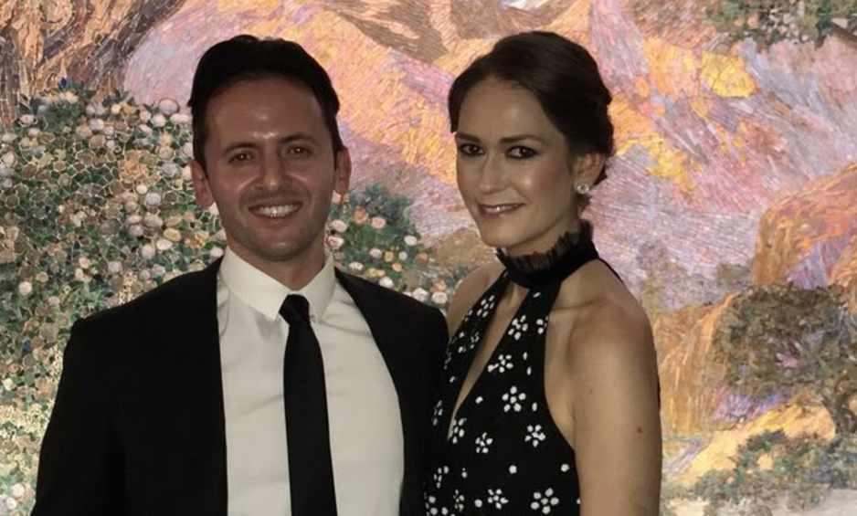 Jessica Tarlov with her husband