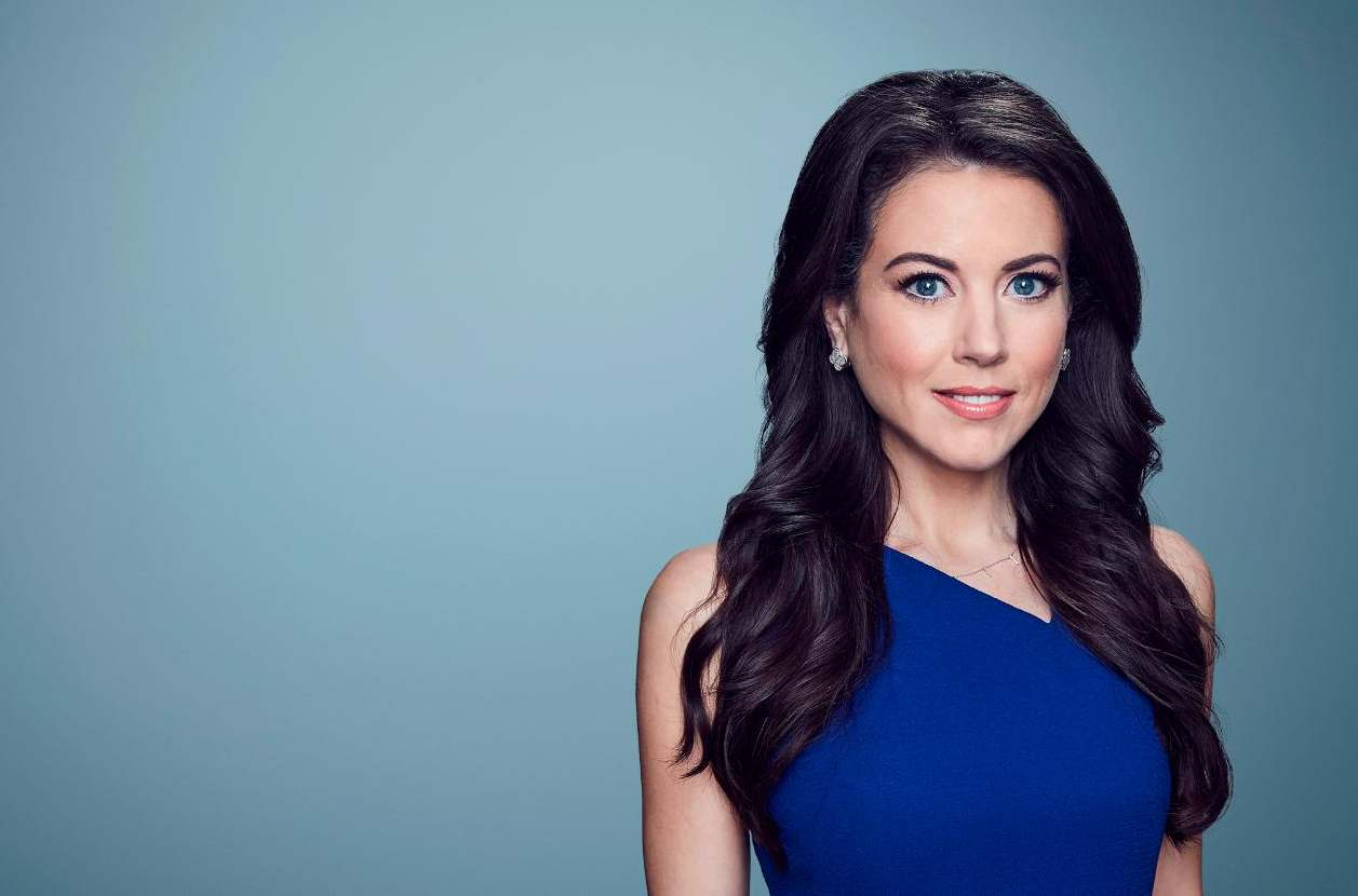 Anchor and correspondent for CNN International based in New York, Julia Chatterley