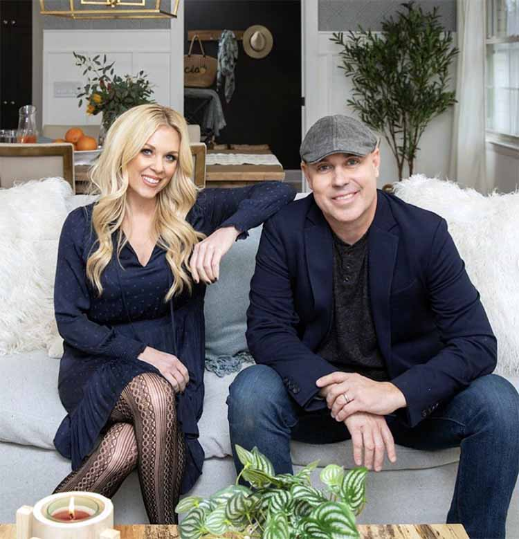 Image of Kortney Wilson and her ex-husband Dave Wilson.