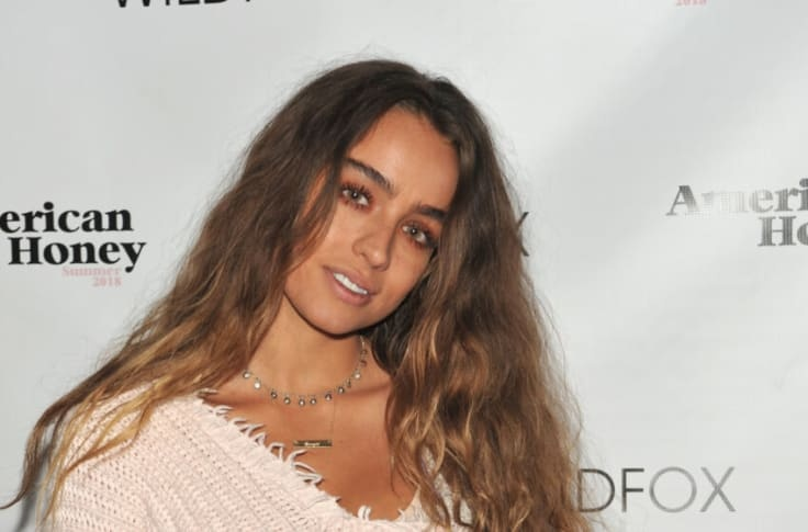 Images of an American fitness instructor, Sommer Ray